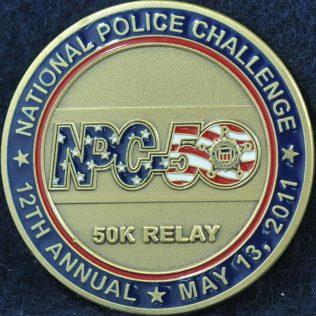 US Secret Service 12th Annual 50 k relay 20110513