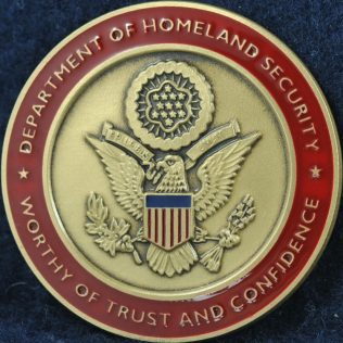 US Secret Service Worthy of Trust and Confidence red