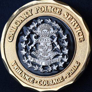 Calgary Police Service 125th Anniversary 1885 - 2010 Onward