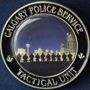 Calgary Police Service Tactical Unit