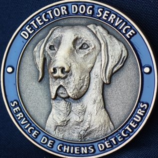Canada Border Services Agency CBSA - Detector Dog Service Pacific Region