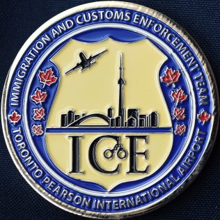 Canada Border Services Agency CBSA - YYZ Immigration and Customs Enforcement Team