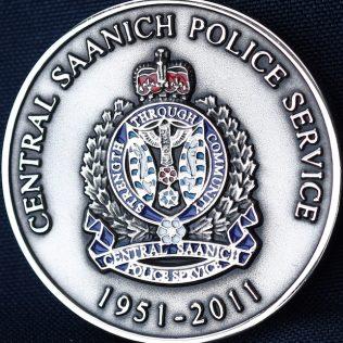 Central Saanich Police Service 1951 - 2011