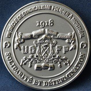 SPVM Fraternité des policiers et policières de Montréal