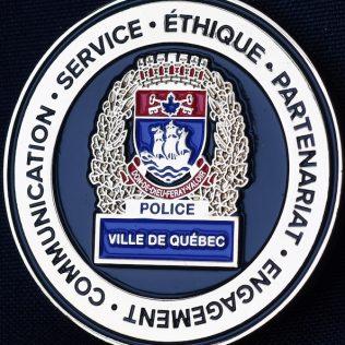 Service de Police de la Ville de Quebec 175 ans 1843-2018