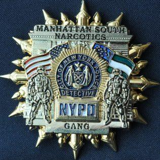 US NYPD Manhattan South Narcotics