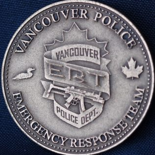 Vancouver Police Department Emergency Response Team