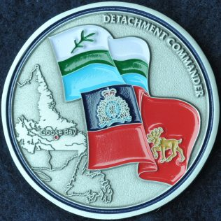 RCMP B Division Goose Bay Detachment Commander