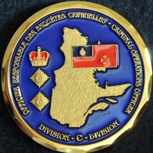 RCMP C Division - Criminal Operations Officer