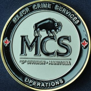 RCMP D Division Major Crime Services Operations