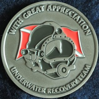 RCMP D Division - Underwater Recovery team, with Great Appreciation