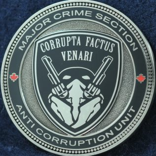 RCMP E Division Anti Corruption Unit