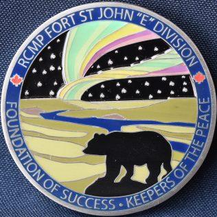 RCMP E Division Fort St John