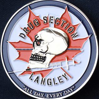 RCMP E Division Langley Detachment Drug Section