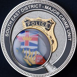 RCMP E Division Major Crime South East District