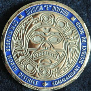 RCMP E Division - North District Commander