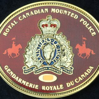 RCMP E Division Premier's Protection Detail Red