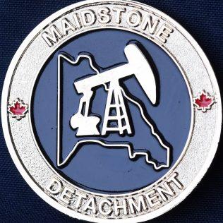 RCMP F Division Maidstone Detachment Gold