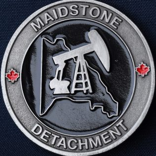 RCMP F Division Maidstone Detachment Pewter
