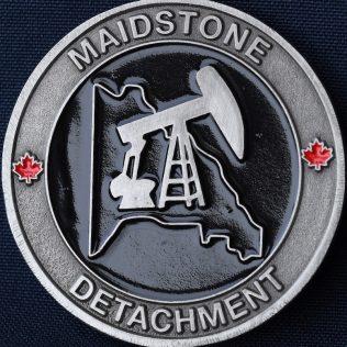 RCMP F Division Maidstone Detachment Pewter