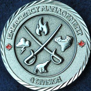 RCMP G Division Emergency Management