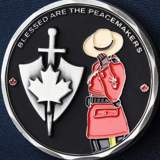 RCMP Generic Blessed are the Peacemakers