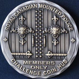 RCMP Generic Challenge Coin Hub