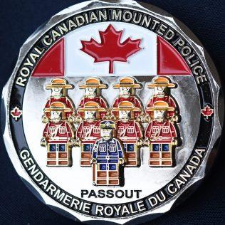 RCMP Generic LEGO Passout