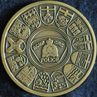 RCMP Generic Provinces Coat of Arms