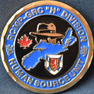 RCMP H Division Human Source Unit
