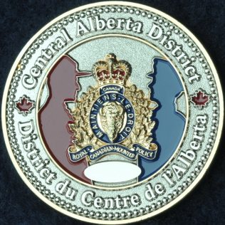RCMP K Division Central Alberta District Committed Accountable Diverse