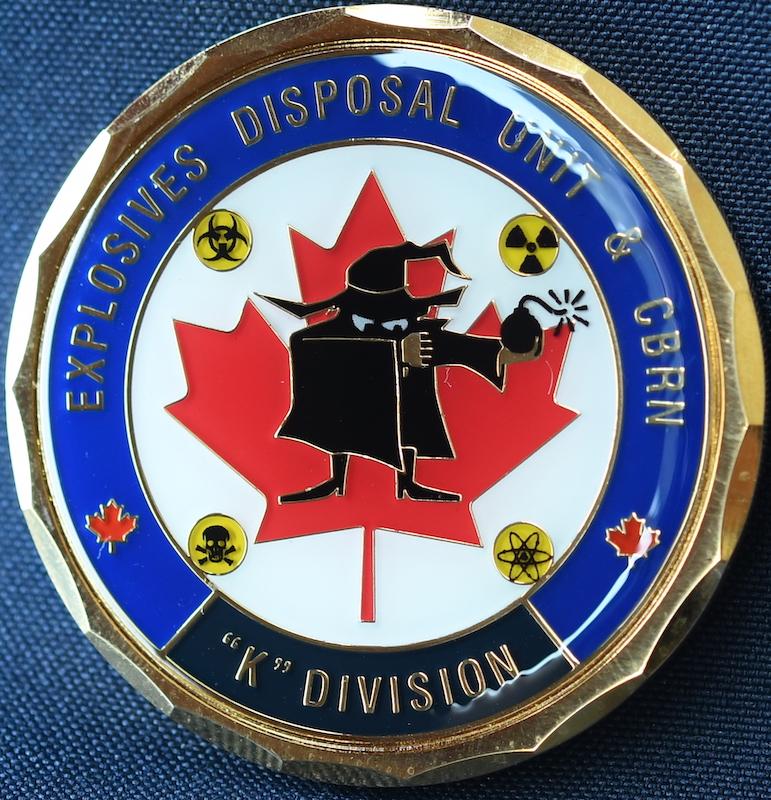 RCMP K Division Explosives Disposal Unit and CBRN (EDU