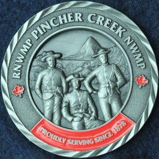 RCMP K Division RNWMP Pincher Creek NWMP