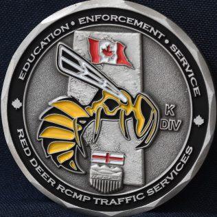 RCMP K Division Red Deer Traffic Services