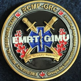 RCMP NHQ Critical Incident Program - Emergency Medical Response Team