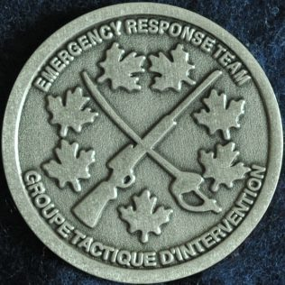 RCMP NHQ Critical Incident Program Emergency Response Team ERT Pewter