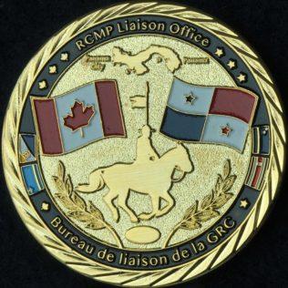 RCMP NHQ Liaison Office Panama Gold