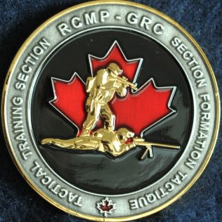 RCMP NHQ National Tactical Training Center ERT Gold