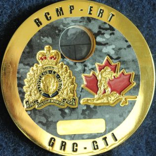 RCMP NHQ National Tactical Training Centre - Sniper Observer Gold