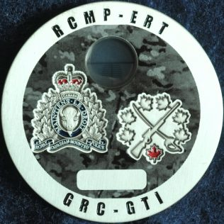 RCMP NHQ National Tactical Training Centre - Sniper Observer Silver