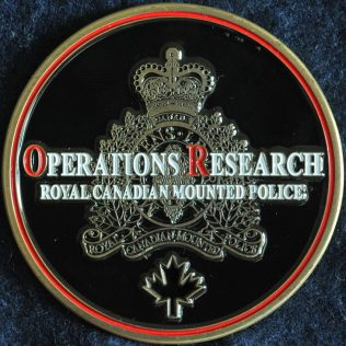 RCMP NHQ Operations Research
