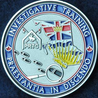 RCMP E Division PRTC Investigative Training