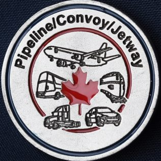 RCMP NHQ Pipeline Convoy Jetway