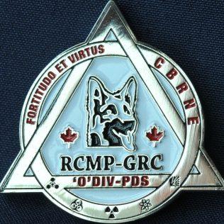 RCMP O Division CBRNE PDS