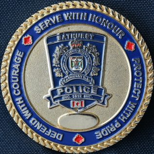 Bathurst Police Force New Brunswick