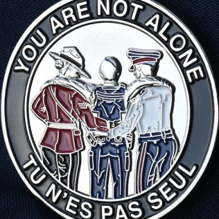 Canadian First Responders - PTSD Silver