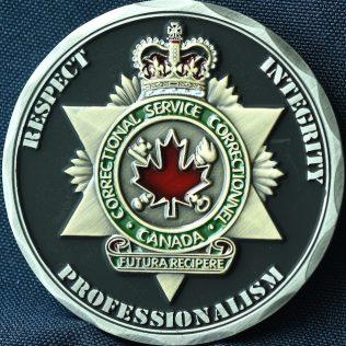 Correctional Service Canada Drumheller ERT Gold