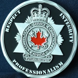 Correctional Service Canada Drumheller ERT Pewter