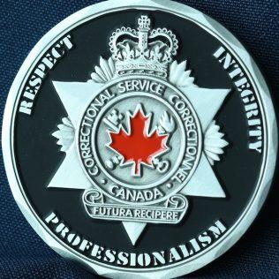 Correctional Service Canada Drumheller ERT Pewter