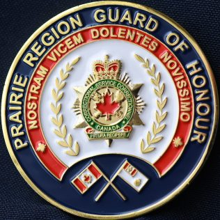 Correctional Service Canada Prairie Region Guard of Honour